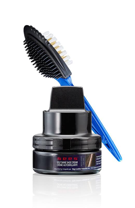 Nees shoe cream kit and brush
