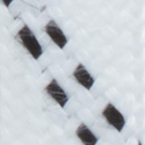 Blanc / Rayures Noir - 5207